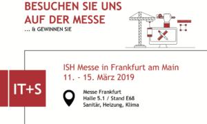 ISH Frankfurt – wir sind dabei!