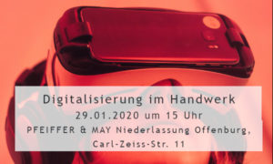 Digitalisierung: PFEIFFER & MAY Offenburg